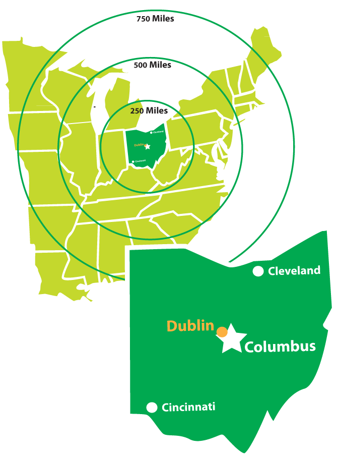 dublin-ohio-usa-location