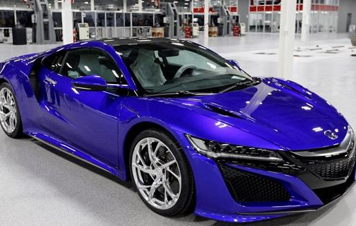 Acura building new NSX in high-tech Ohio factory