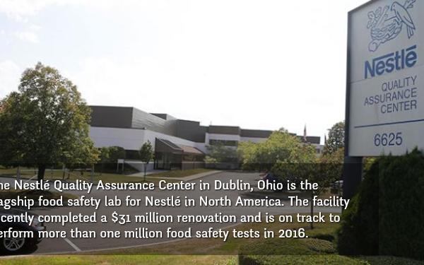 A Look Inside the Nestlé Quality Assurance Center