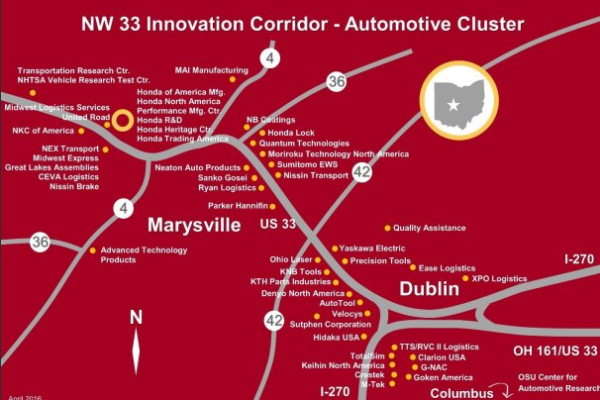 Driverless vehicles, ridesharing app among Smart City ideas as Dublin and Marysville share $6M grant