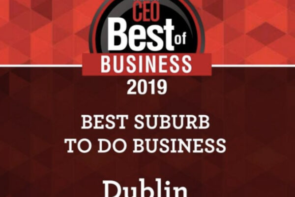 Dublin Voted Best Suburb for Business – Again!