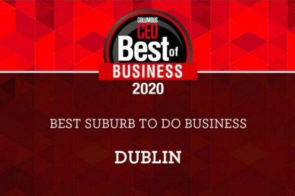 Dublin Named Best Suburb for Business 10 Straight Years