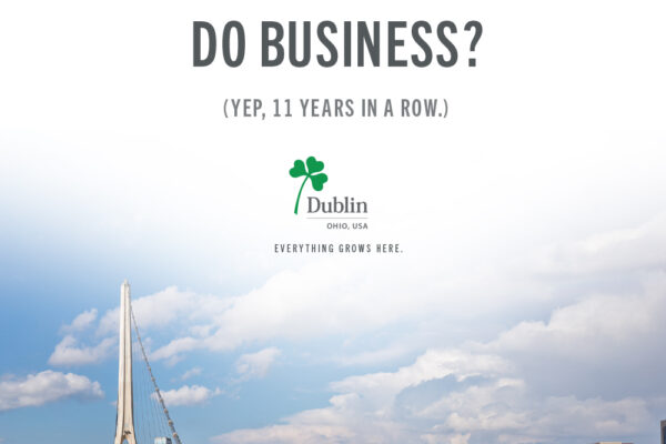 Dublin Named Best Suburb to do Business for 11th Straight Year